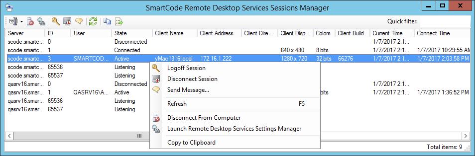 SmartCode VNC Manager Screenshots - Remote Desktop