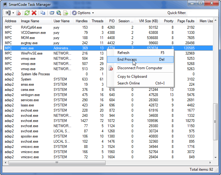 how to put task manager on desktop