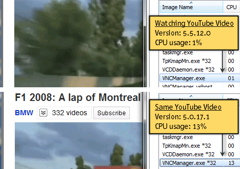 VNC Viewer performance in v5.5