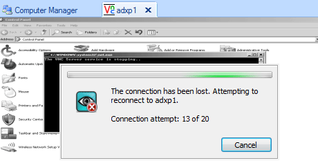 VNC Viewer auto-reconnect